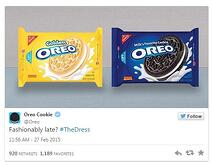 oreo for #thedress