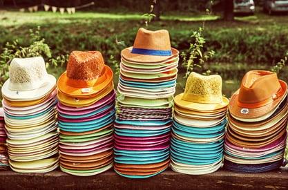 Too Many Hats in Web Marketing