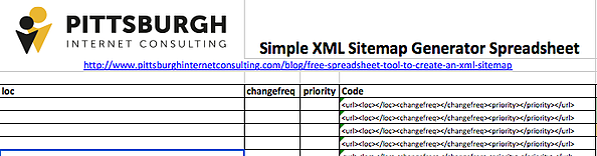 create xml sitemap free spreadsheet xml sitemap generator