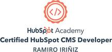 hubspot-ramiro-iriniz-certification