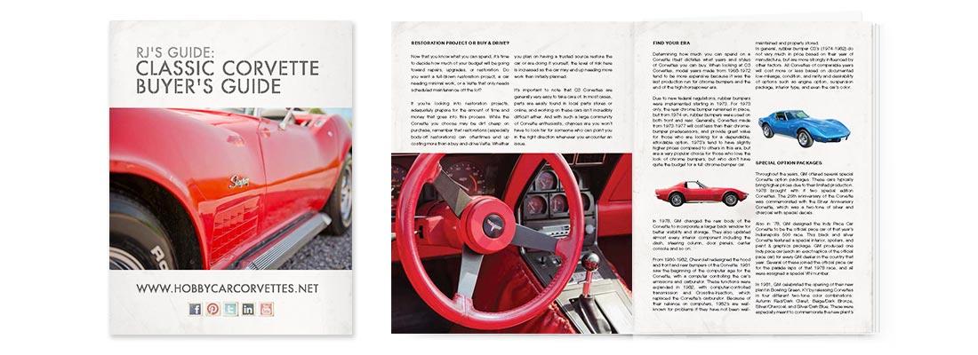 Premium Content Portfolio Piece: Classic Corvette Buyer's Guide