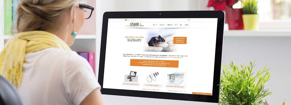 STARR Life Sciences: Increased Website Lead Generation by 297%